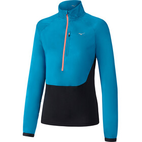 Mizuno Static BT Half-Zip Windtop Women ocean/black